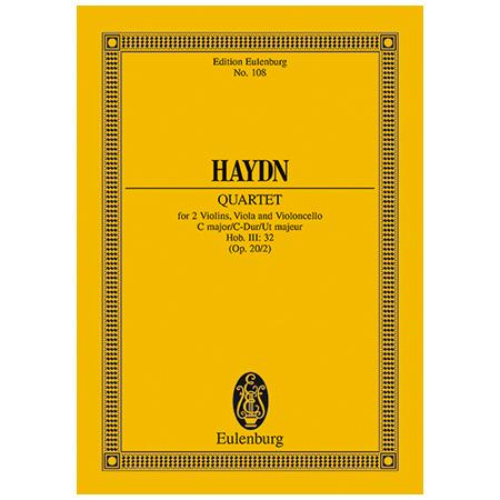 Haydn, J.: Streichquartett Op. 20/2 Hob. III: 32 C-Dur