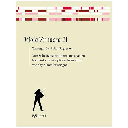 Viola Virtuosa II – Tarrega, De Falla, Sagreras