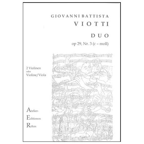 Viotti, G. B.: Duo Nr. 3, Op. 29