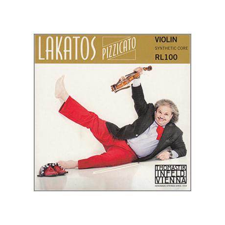 THOMASTIK Lakatos Pizzicato violin strings D