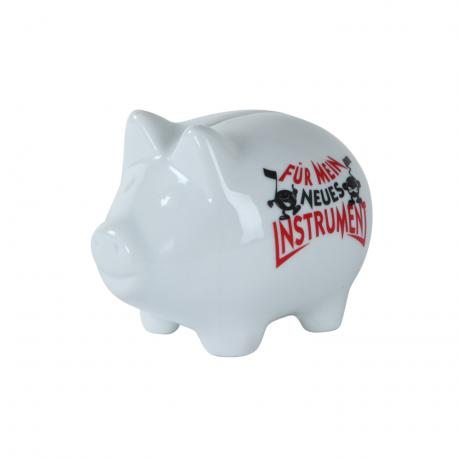 Piggy bank »For my new Instrument«