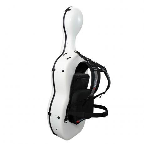 MUSILIA Cello Case backpack carrying system