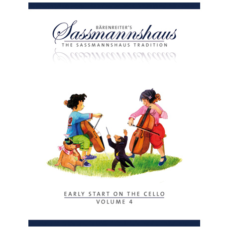 Sassmannshaus, E./Corssen, M.: Early Start on the Cello Volume 4