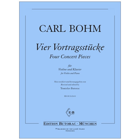 Bohm, C.: 4 Vortragsstücke