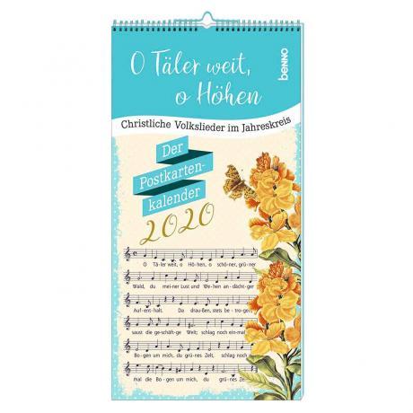 Postkartenkalender 2020 »O Täler weit, o Höhen«