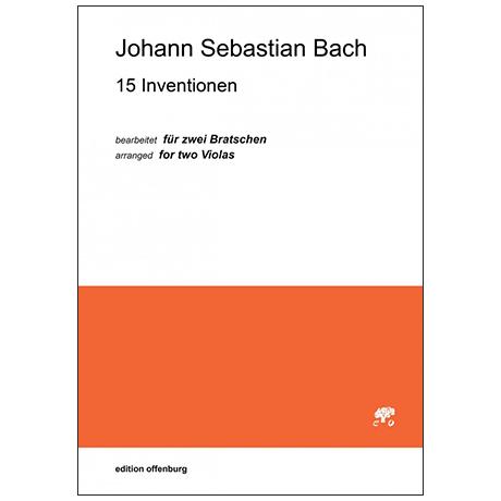 Bach, J. S.: 15 Inventionen für Violen