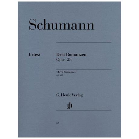 Schumann, R.: 3 Romanzen Op. 28