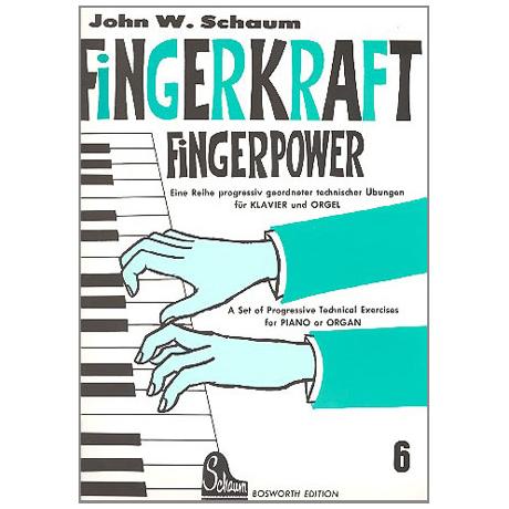 Schaum, J. W.: Fingerkraft Band 6