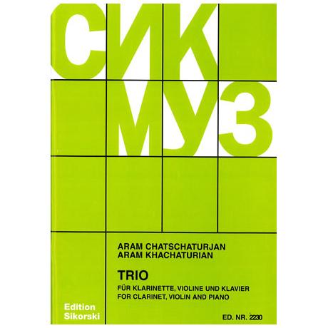Chatschaturjan, A.: Klaviertrio (1932)