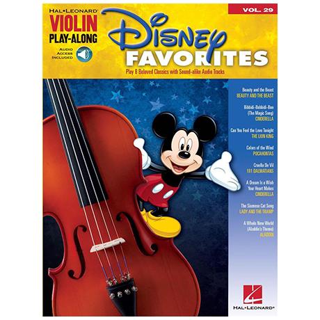 Disney Favorites (+Online Audio)