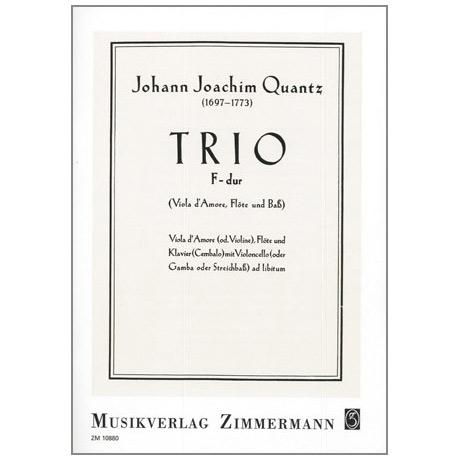 Quantz, J.J.: Trio F-Dur