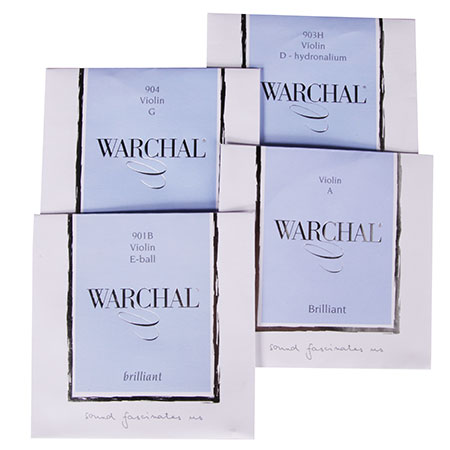 WARCHAL Brilliant violin strings SET