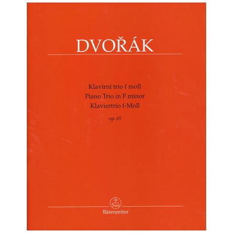 Dvořák, A.: Klaviertrio Op. 65 f-Moll
