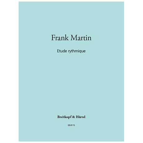 Martin, F.: Etude rythmique