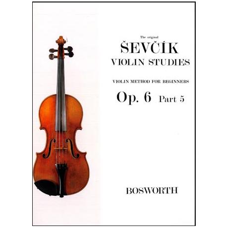 Sevcik, O.: Violinschule für Anfänger Op. 6, Heft 5
