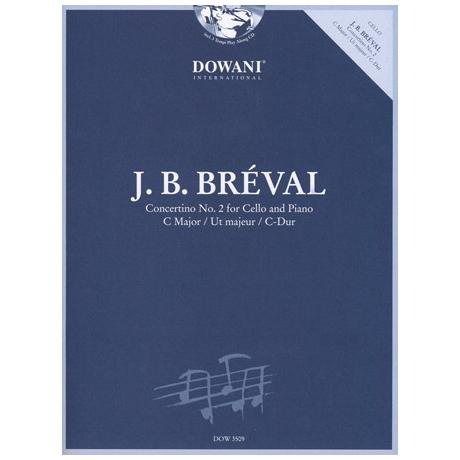 Bréval, J.B.: Concertino C-Dur Nr.2 (+CD)