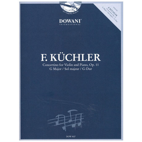 Küchler, F.: Concertino Op. 11 G-Dur (+CD)