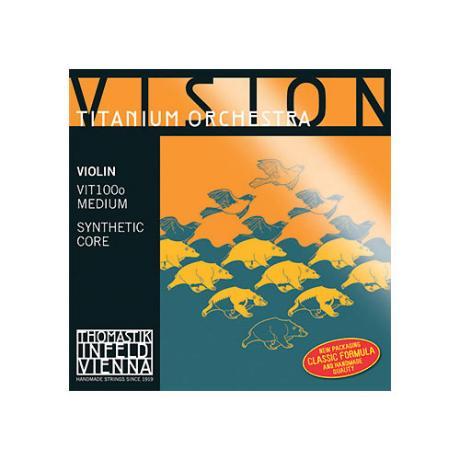 THOMASTIK Vision Titanium Orchestra violin string D