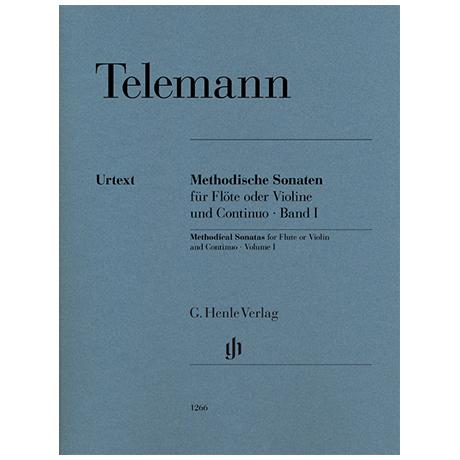 Telemann, G. Ph.: Methodische Sonaten Band I