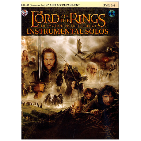 Lord Of The Rings: Instrumental Solos (+CD)
