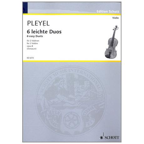 Pleyel, I.J.: 6 leichte Duos - Sonatinen op.8