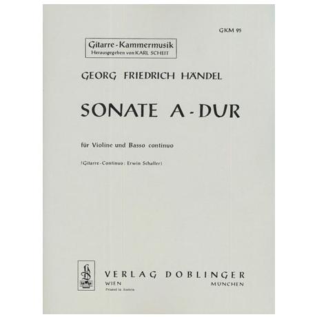 Händel, G. F.: Sonate A-Dur Op. 1/3