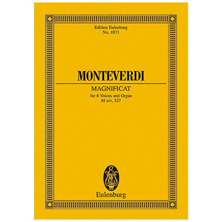Monteverdi, C.: Magnificat M xiv, 327 / SV 206, Anh.