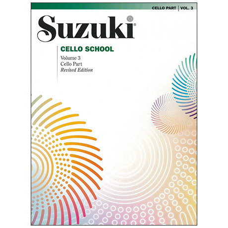 Suzuki Cello School Vol. 3
