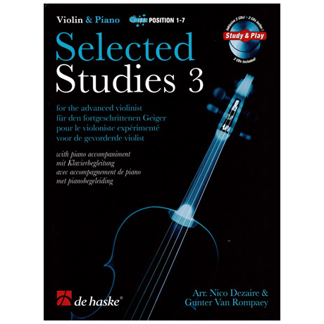 Selected Studies for Violin Band 3 (+2 CD's)