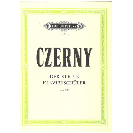 Czerny, C.: Der kleine Klavierschüler Band I