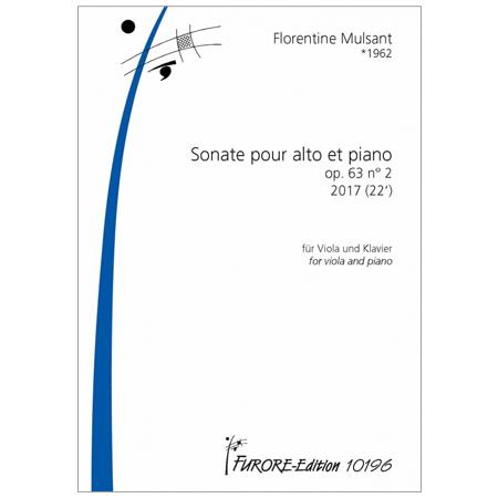 Mulsant, F.: Violasonate Op. 63/2 (2016)