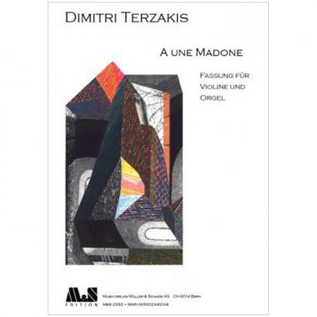 Terzakis, D.: A une Madone (2006/2008)