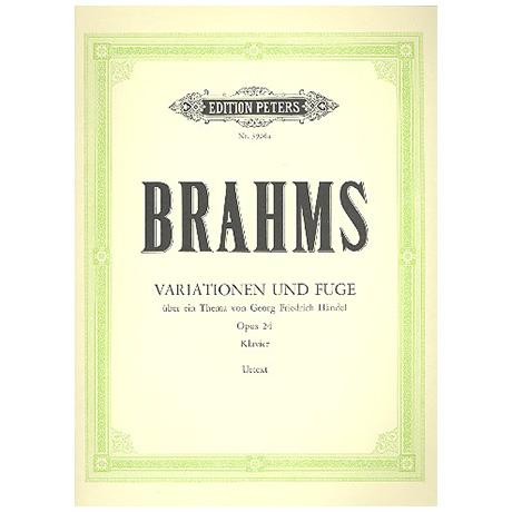 Brahms, J.: Händel-Variationen B-Dur Op. 24