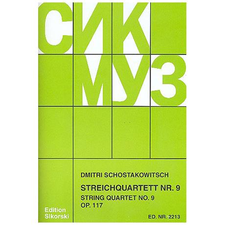 Schostakowitsch, D.: Streichquartett Nr. 9, op. 117