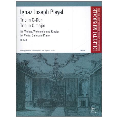 Pleyel, I. J.: Trio B. 443 C-Dur