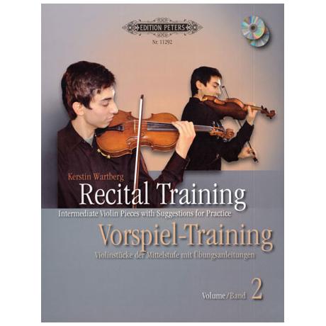 Wartberg, K.: Vorspiel Training Band 2 (+2CDs)