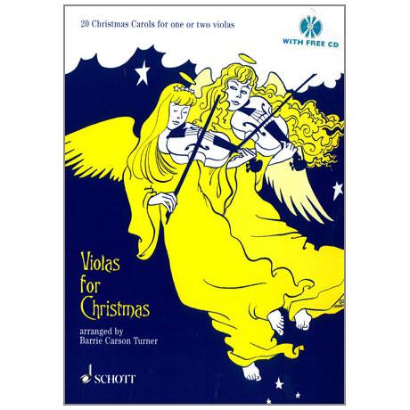 Violas for Christmas (+ CD)