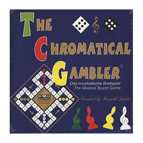 The chromatical Gambler - The Musical Board Game