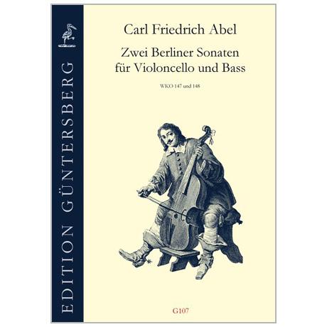 Abel, K. F.: 2 Berliner Sonaten WKO 147 und 148