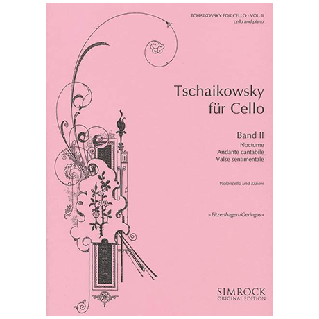 Tschaikowski für Cello Band 2 (Geringas)