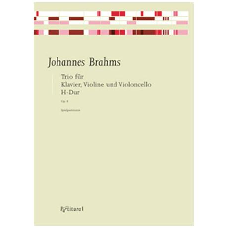 Brahms, J.: Klaviertrio Op. 8 H-Dur