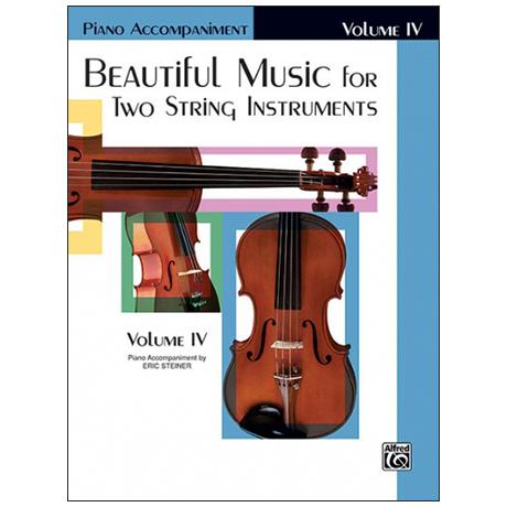 Applebaum, S.: Beautiful Music for two String Instruments Vol. 2 – piano accompaniment