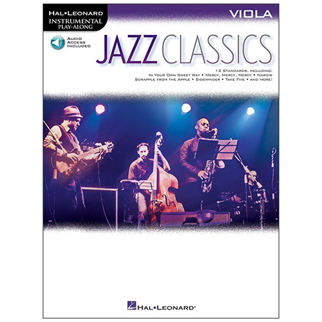 Jazz Classics for Viola (+Online Audio)