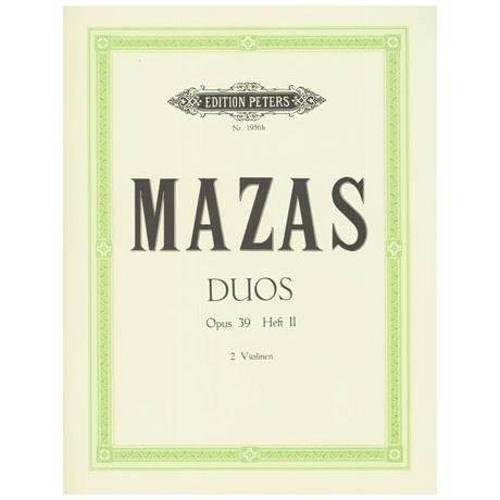 Mazas, J.F.: Duos Op.39 Band 2 (Nr.4-6)