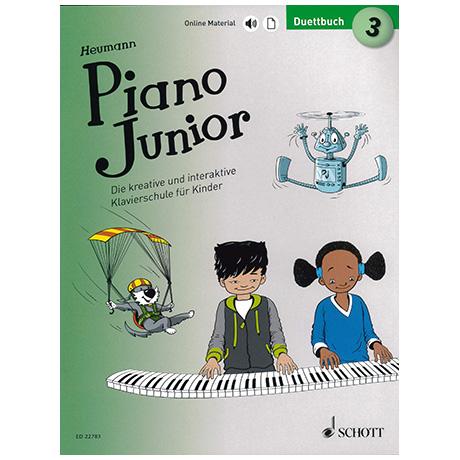 Heumann, H.-G.: Piano Junior – Duettbuch Band 3 (+Online Material)