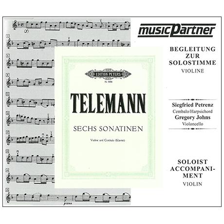 Telemann, G. Ph.: 6 Violinsonatinen – nur CD