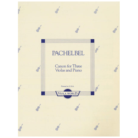 Pachelbel, J.: Canon
