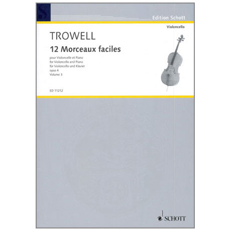 Trowell, A.: 12 Morceaux faciles Op. 4 Band 3 – Nr. 7-9