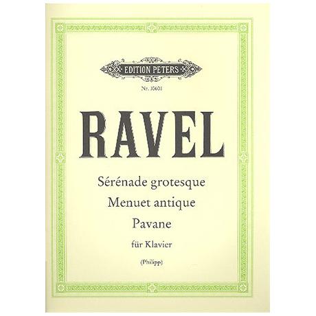 Ravel, M.: 3 Stücke