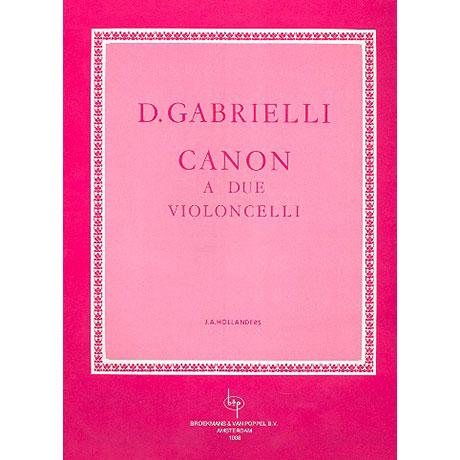 Gabrielli, D.: Canon
